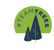 Arbor Day Foundation Team Trees Logo
