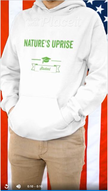 Nature's Uprise Sweater