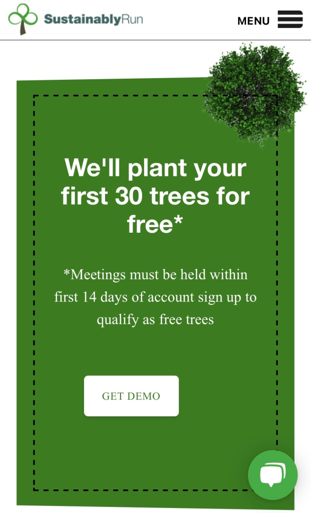 Sign up and start having meetings today! A gift from Nature's Uprise